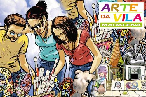 ARTE DA VILA Madalena 2008