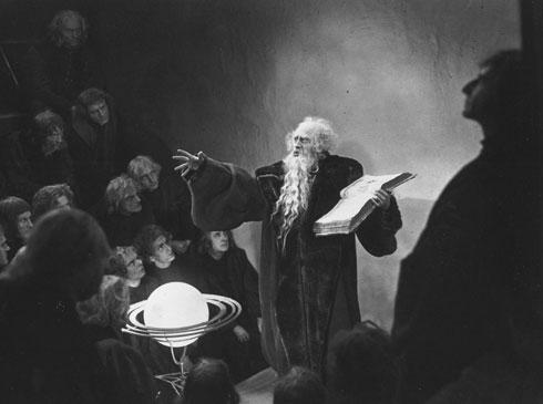 Cena de Fausto, 1925 - inspirado na obra de Goethe.