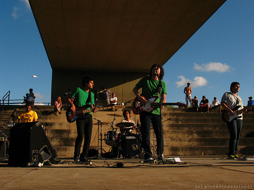 The Cleaners, que se apresenta Quarta-Feira, às 21h. Foto: Giovani Castelucci