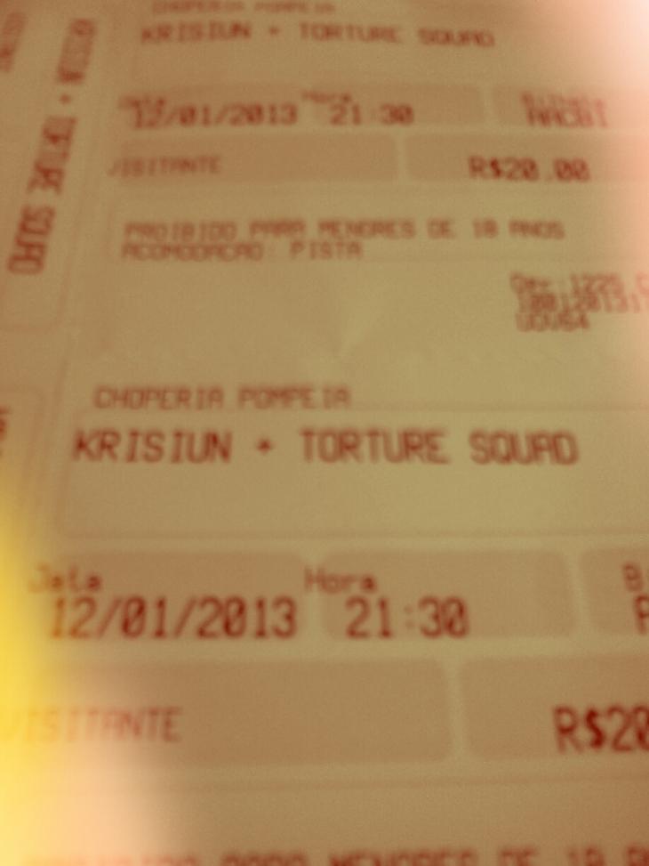 KRISIUN + TORTURE SQUAD