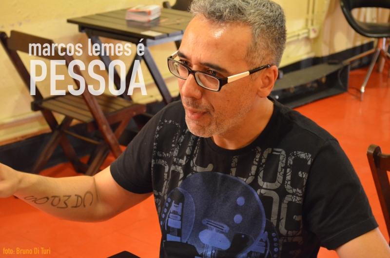 Marcos Lemes. Foto: Bruno Di Turi