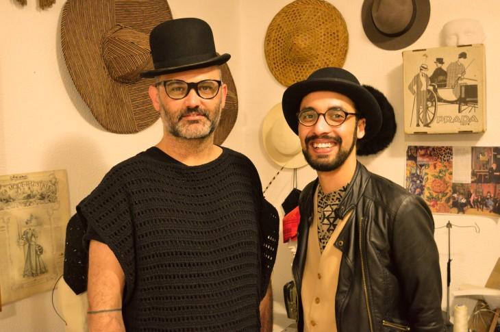 Brunno Almeida Maia e Eduardo Laurino II - Foto DELLAVESTRUZ