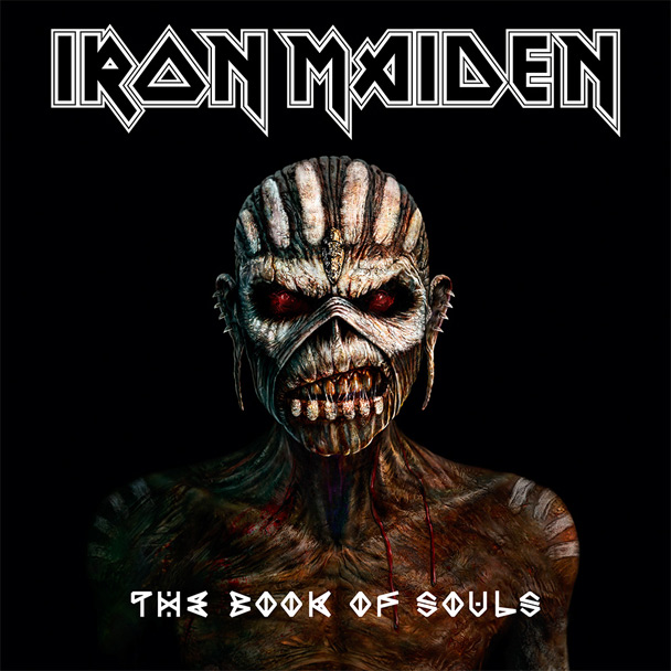 Iron Maiden The Book Of Souls Cover